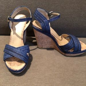 Stuart Weizmann wedge sandals